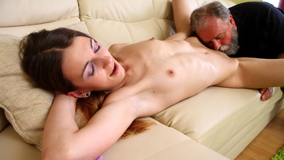 Nina learns a lot from her bearded older guy. More than she thought she would.